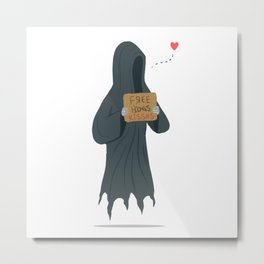 Dementor's Kiss Metal Print