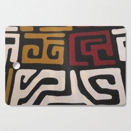 African Mudcloth Print Cutting Board