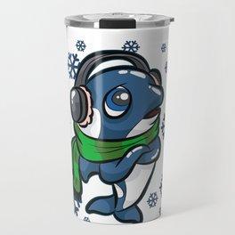 CHILLER WHALE Killer Ocean Gift Dolphin Travel Mug