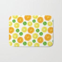 Citrus medley! Oranges, lemons, and limes.  Bath Mat