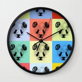 Panda Panda Panda Wall Clock