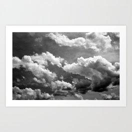 Cloudy 2 Art Print