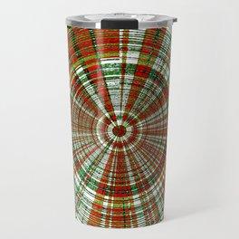 Holiday Bullseye Travel Mug