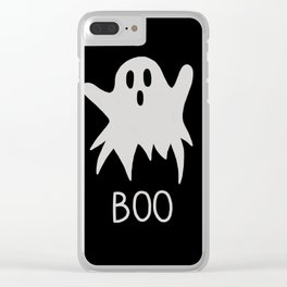 Are you scared ? #5 Clear iPhone Case