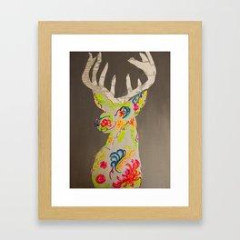 program deer Framed Art Print
