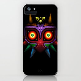 The Mask Of Majora iPhone Case