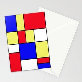 Mondrian #412 Stationery Cards
