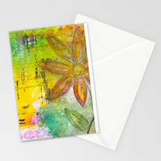 Letters and a Flower Stationery Cards