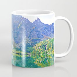 Mountain paradise Coffee Mug