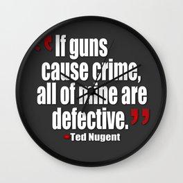 al mine are defective. Wall Clock