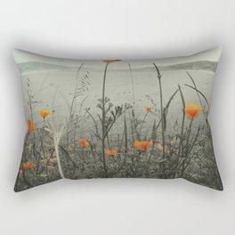 Poppies Shifted Rectangular Pillow