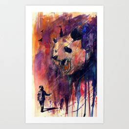 Out to Play Art Print