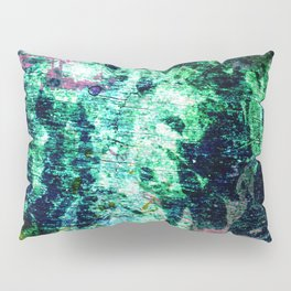 Face in Wood Abstract two Pillow Sham