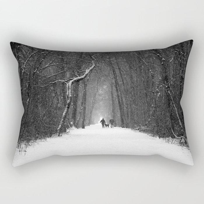 Snow White Morning Rectangular Pillow