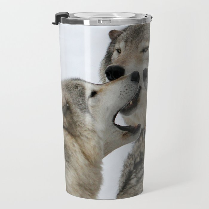Shouting Match Travel Mug
