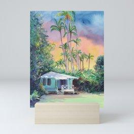 Dreams of Kauai Plantation Cottage Mini Art Print
