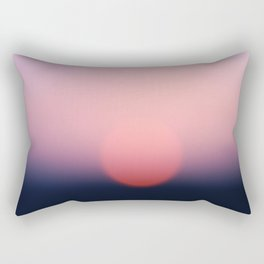 blurry sundown [sky series] Rectangular Pillow