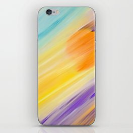 """Catch the Sun #1 – Sequel #2"" Oil Painting iPhone Skin"