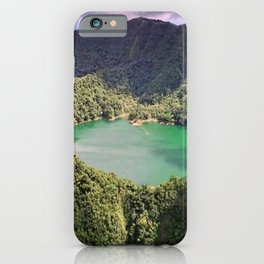 Lake On The Mountain Nature iPhone Case