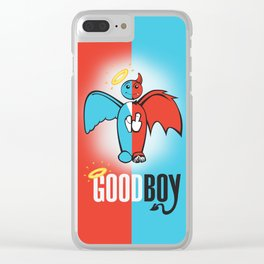 Goodboy Clear iPhone Case