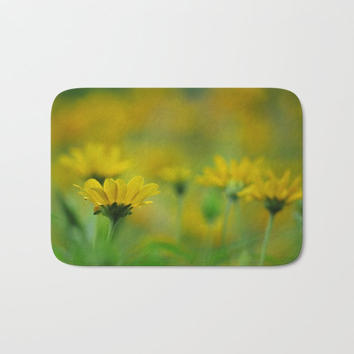 Blurs of Summer Bath Mat