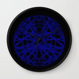 The Scarab Mandala Wall Clock