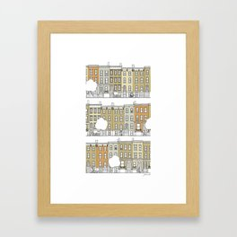 Brooklyn (color) Framed Art Print