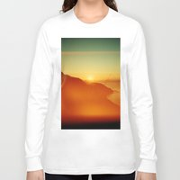 big sur Long Sleeve T-shirts featuring Big Sur by Richard PJ Lambert