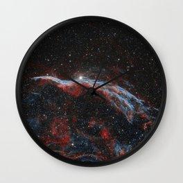 Veil Nebula Wall Clock