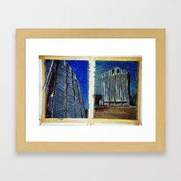 double landascape... Framed Art Print