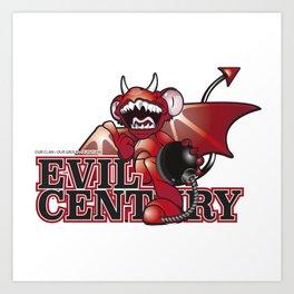 ///Evil Century/// Art Print