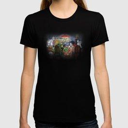 Gods Playing Poker T-shirt