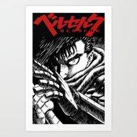 Berserk Cover Art Print