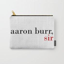Aaron Burr, sir Carry-All Pouch