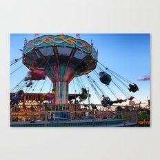 Fun at the County Fair Canvas Print
