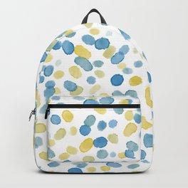 Paint Specks - Ocean Gold Variant Backpack