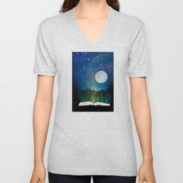Open Your Imagination Unisex V-Neck