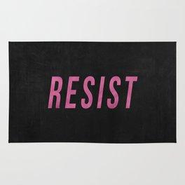 RESIST 3.0 - Pink on Black #resistance Rug