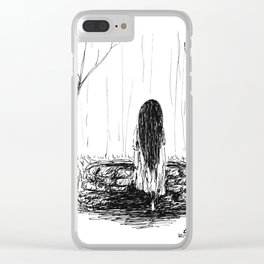 Seven Days Clear iPhone Case