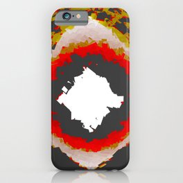A Radiant Bad Day, in Various Shapes of Decay iPhone Case