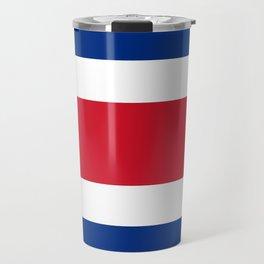 Flag of Costa rica -Costa rican, tico,San José ,Puerto Limón ,Alajuela, heredia. Travel Mug