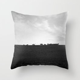 Moo! Throw Pillow