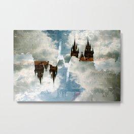 In the clouds Metal Print