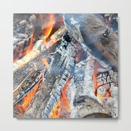 fire, ember and ash Metal Print