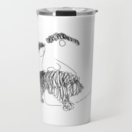 Nietzsche Talking Travel Mug