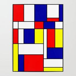 Mondrian #38 Poster