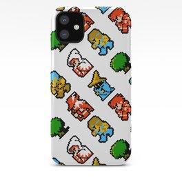 Final Fantasy (NES) pattern iPhone Case