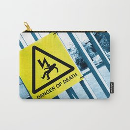 Danger of Death #3   Press PLAY To Die Carry-All Pouch