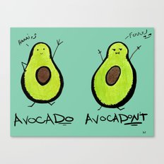 Avocado Canvas Print