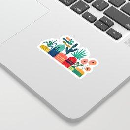 Plant mania Sticker